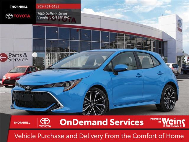 2020 Toyota Corolla Hatchback Base (Stk: 70521) in Concord - Image 1 of 11