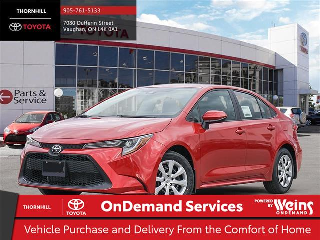 2020 Toyota Corolla LE (Stk: 69643) in Concord - Image 1 of 24