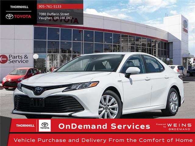 2020 Toyota Camry Hybrid LE (Stk: 70616) in Concord - Image 1 of 24
