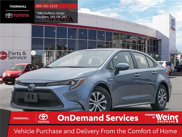 2020 Toyota Corolla Hybrid Base (Stk: 70698) in Concord - Image 1 of 24