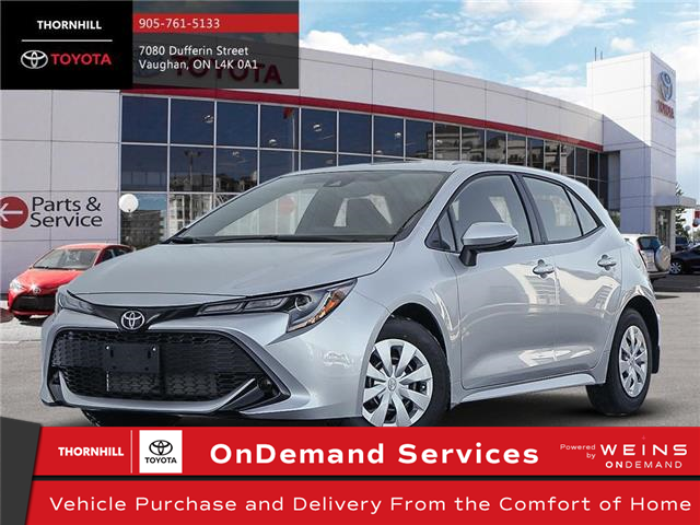 2020 Toyota Corolla Hatchback Base (Stk: 70680) in Concord - Image 1 of 24