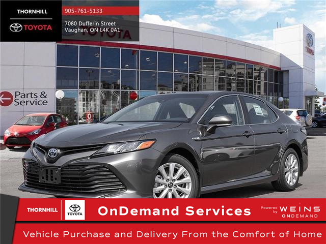 2020 Toyota Camry Hybrid LE (Stk: 70760) in Concord - Image 1 of 24