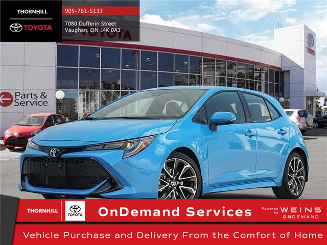 2020 Toyota Corolla Hatchback Base (Stk: 70363) in Concord - Image 1 of 24