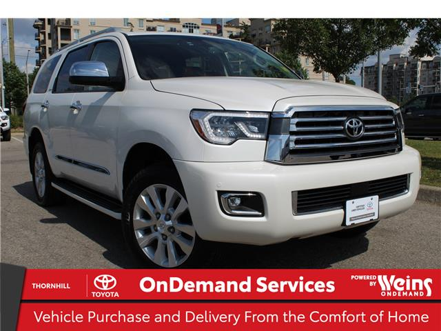 2018 Toyota Sequoia Platinum 5.7L V8 (Stk: U3391) in Concord - Image 1 of 28