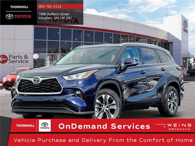 2020 Toyota Highlander XLE (Stk: 70868) in Concord - Image 1 of 10
