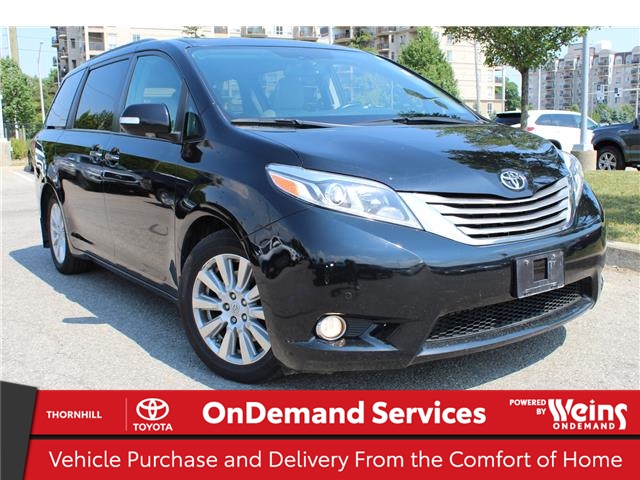 2017 Toyota Sienna Limited 7-Passenger (Stk: U3393) in Concord - Image 1 of 23