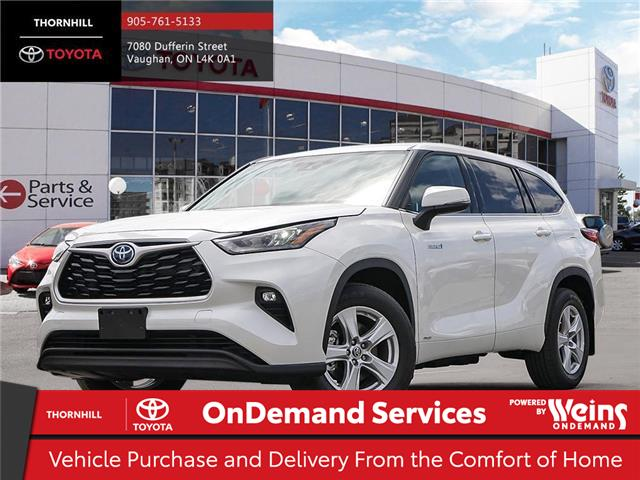 2020 Toyota Highlander Hybrid LE (Stk: 70914) in Concord - Image 1 of 24
