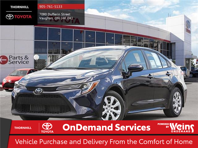 2020 Toyota Corolla LE (Stk: 70961) in Concord - Image 1 of 24
