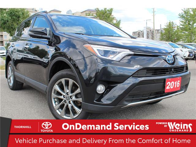 2016 Toyota RAV4 Hybrid Limited (Stk: U3465) in Concord - Image 1 of 23