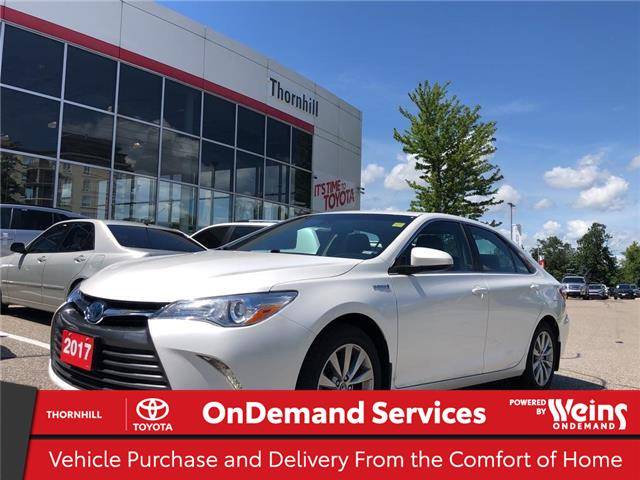 2017 Toyota Camry Hybrid XLE (Stk: U3454) in Concord - Image 1 of 27