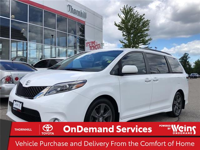 2017 Toyota Sienna SE 8 Passenger (Stk: U3389) in Concord - Image 1 of 27