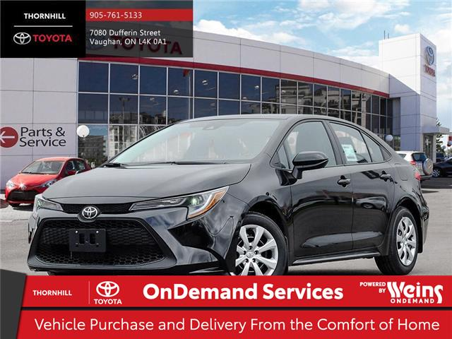 2020 Toyota Corolla LE (Stk: 70993) in Concord - Image 1 of 24