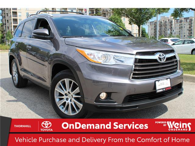 2015 Toyota Highlander XLE (Stk: 70638A) in Concord - Image 1 of 25