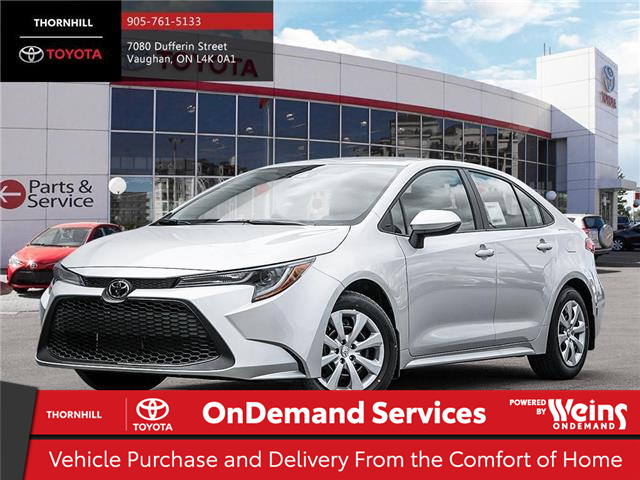 2020 Toyota Corolla LE (Stk: 71043) in Concord - Image 1 of 23