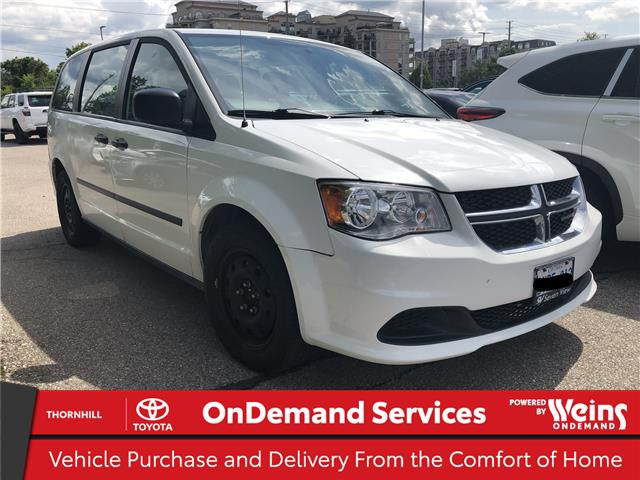 2016 Dodge Grand Caravan SE/SXT (Stk: U3455A) in Concord - Image 1 of 2