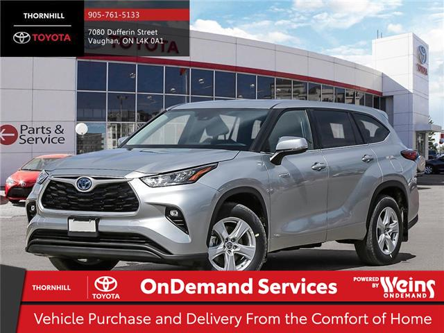2020 Toyota Highlander Hybrid LE (Stk: 300161) in Concord - Image 1 of 24