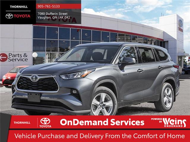 2020 Toyota Highlander Hybrid LE (Stk: 70538) in Concord - Image 1 of 24