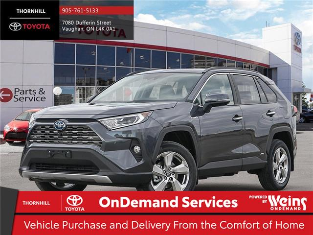 2020 Toyota RAV4 Hybrid Limited (Stk: 300220) in Concord - Image 1 of 24