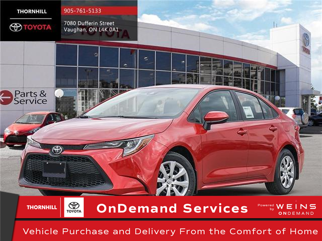 2021 Toyota Corolla LE (Stk: 300115) in Concord - Image 1 of 24