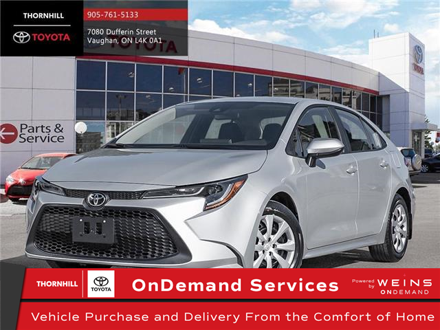 2021 Toyota Corolla LE (Stk: 300129) in Concord - Image 1 of 22