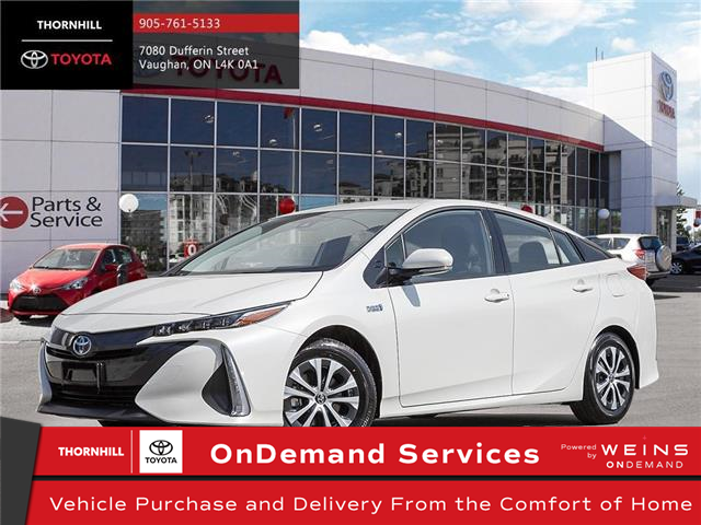 2021 Toyota Prius Prime Upgrade (Stk: 300247) in Concord - Image 1 of 10