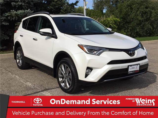 2017 Toyota RAV4 Limited (Stk: U3592) in Concord - Image 1 of 26