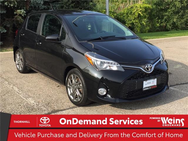 2015 Toyota Yaris SE (Stk: U3601) in Concord - Image 1 of 21