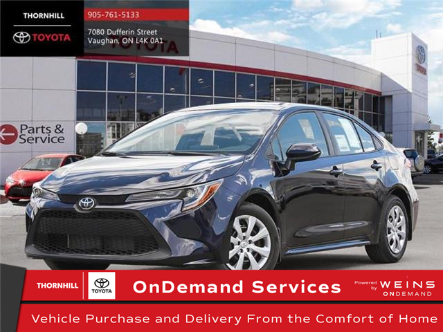 2020 Toyota Corolla LE (Stk: 69215) in Concord - Image 1 of 24