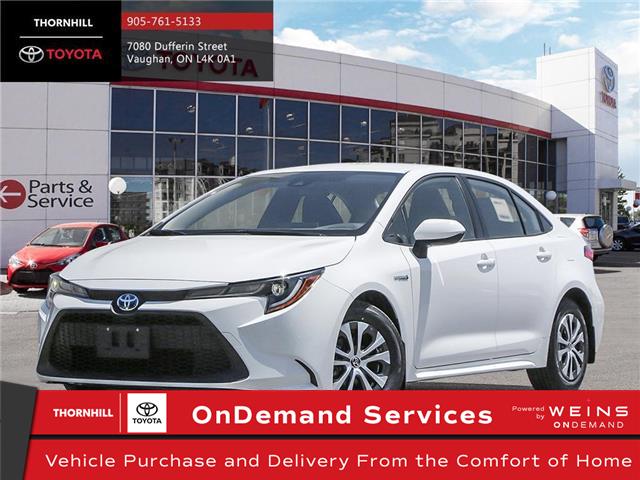 2021 Toyota Corolla Hybrid Base w/Li Battery (Stk: 300341) in Concord - Image 1 of 24