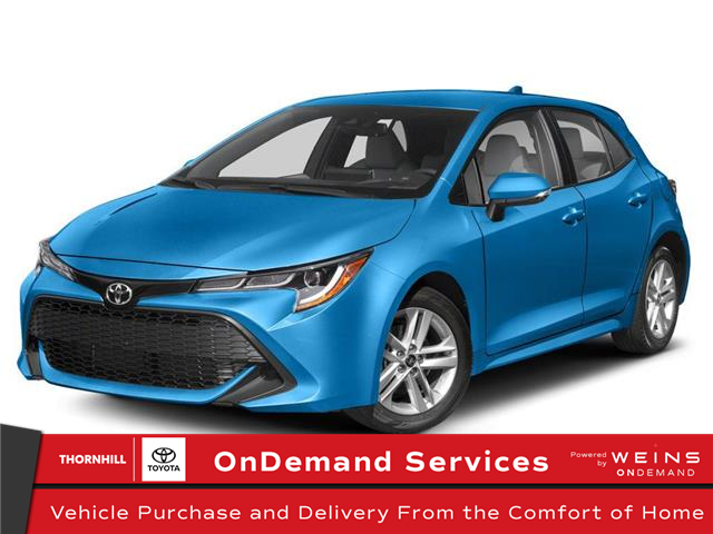 2020 Toyota Corolla Hatchback Base (Stk: 70241) in Concord - Image 1 of 9
