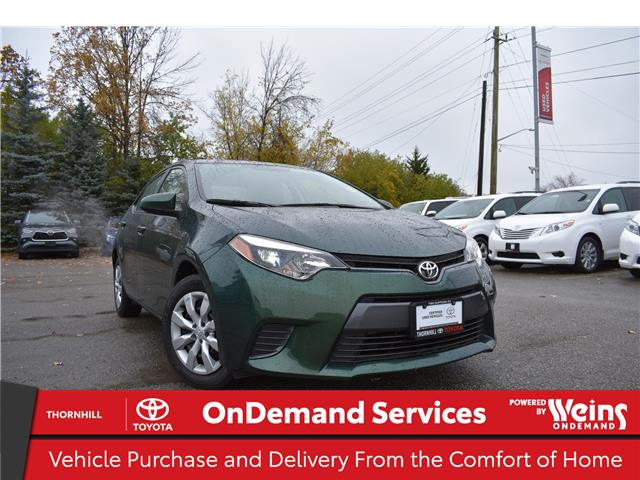 2015 Toyota Corolla LE (Stk: 300224A) in Concord - Image 1 of 21