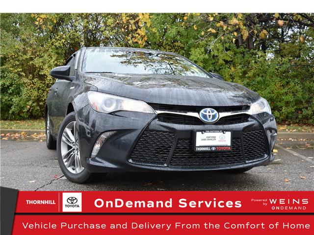 2017 Toyota Camry Hybrid SE (Stk: U3631) in Concord - Image 1 of 26