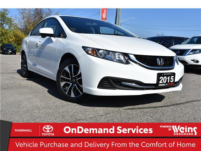 2015 Honda Civic EX (Stk: U3675) in Concord - Image 1 of 20