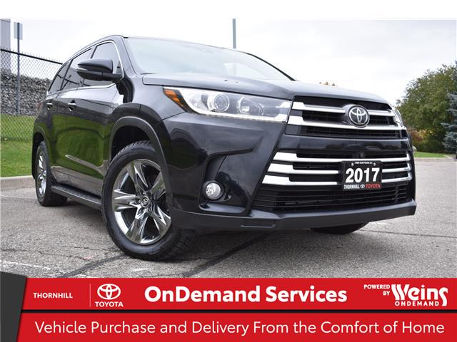 2017 Toyota Highlander Limited (Stk: U3688) in Concord - Image 1 of 37