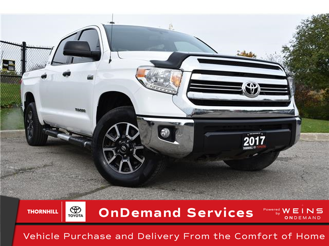 2017 Toyota Tundra SR5 Plus 5.7L V8 (Stk: U3705) in Concord - Image 1 of 27