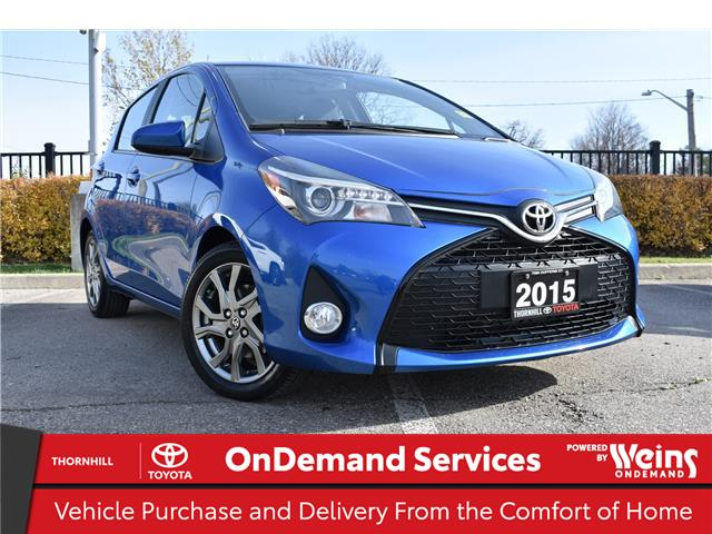 2015 Toyota Yaris SE (Stk: U3724) in Concord - Image 1 of 22