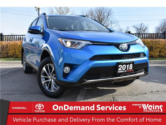 2018 Toyota RAV4 Hybrid LE+ (Stk: U3746) in Concord - Image 1 of 32