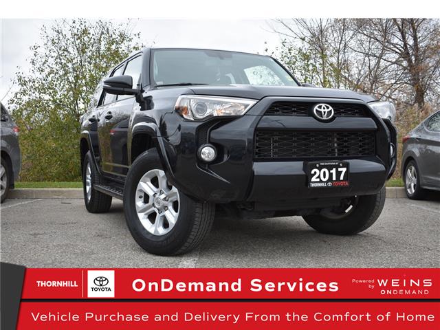 2017 Toyota 4Runner SR5 (Stk: U3731) in Concord - Image 1 of 30