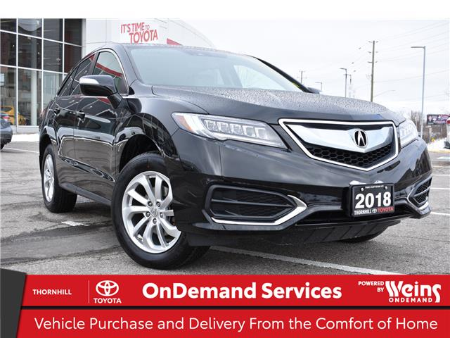 2018 Acura RDX Tech (Stk: U3783) in Concord - Image 1 of 28