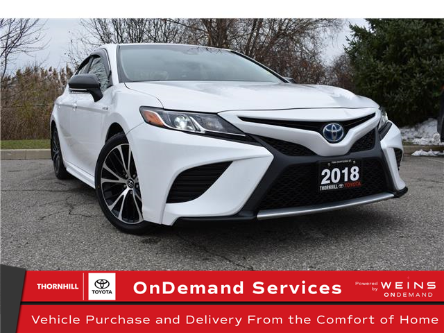2018 Toyota Camry Hybrid SE (Stk: u3788) in Concord - Image 1 of 28