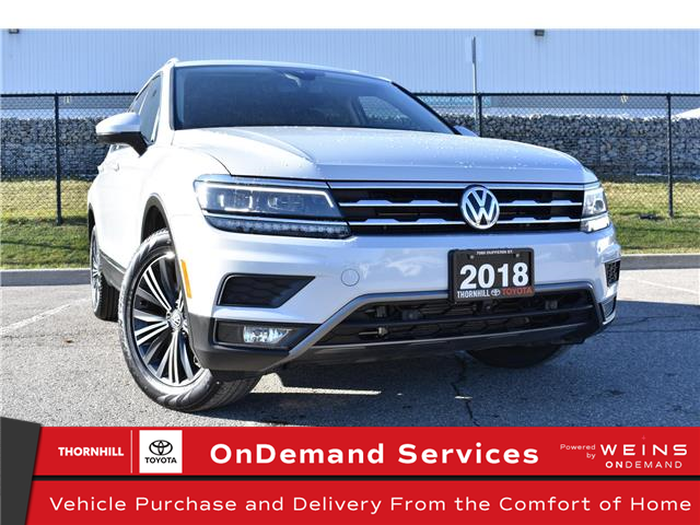 2018 Volkswagen Tiguan Highline (Stk: U3786) in Concord - Image 1 of 33