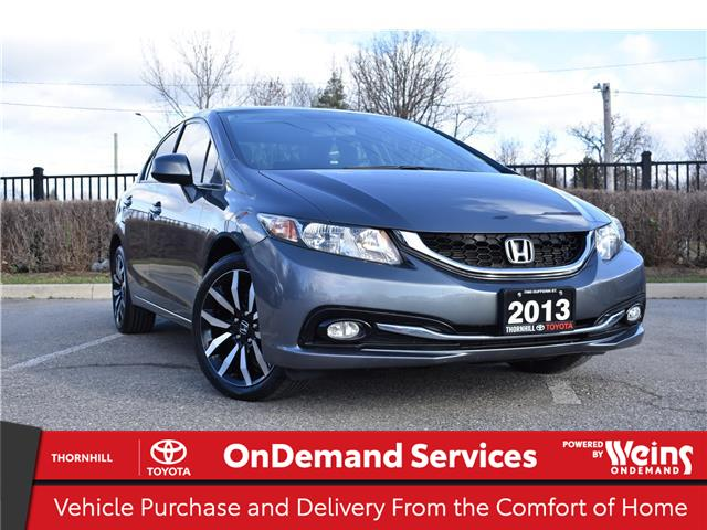 2013 Honda Civic Touring (Stk: U3621A) in Concord - Image 1 of 26