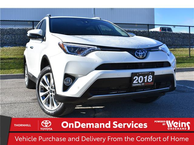 2018 Toyota RAV4 Limited (Stk: U3818) in Concord - Image 1 of 28