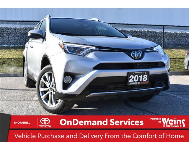 2018 Toyota RAV4 Limited (Stk: U3821) in Concord - Image 1 of 26