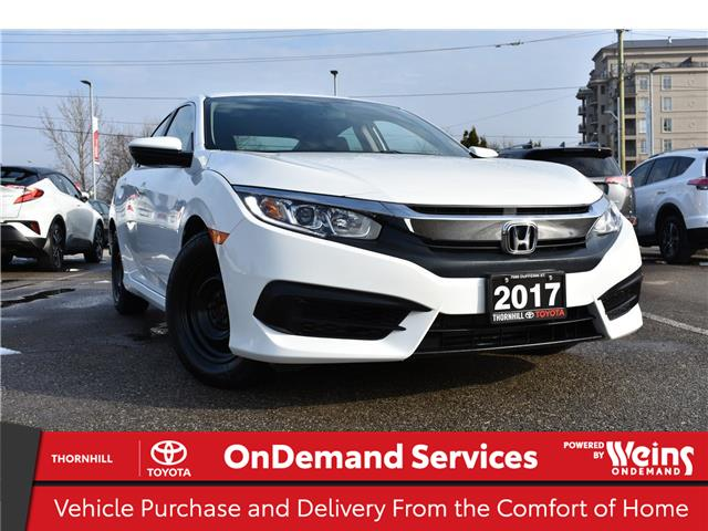 2017 Honda Civic LX (Stk: U3824) in Concord - Image 1 of 22