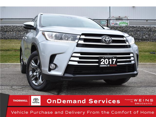 2017 Toyota Highlander Limited (Stk: U3828) in Concord - Image 1 of 34