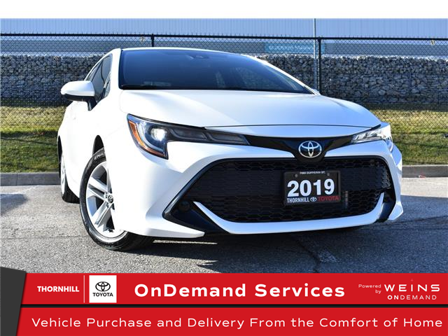 2019 Toyota Corolla Hatchback Base (Stk: U3852) in Concord - Image 1 of 26