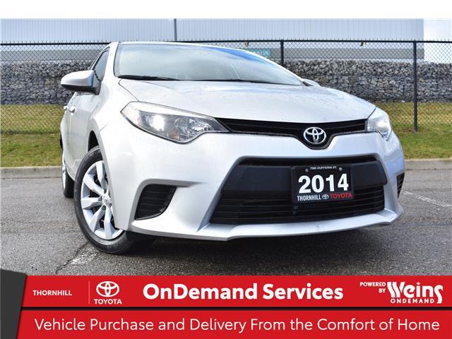 2014 Toyota Corolla LE (Stk: U3839) in Concord - Image 1 of 22