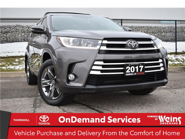 2017 Toyota Highlander Limited (Stk: U3865) in Concord - Image 1 of 28