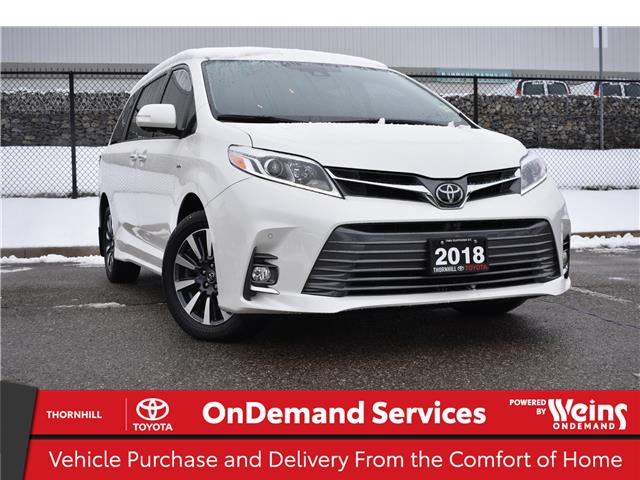 2018 Toyota Sienna XLE 7-Passenger (Stk: U3878) in Concord - Image 1 of 38